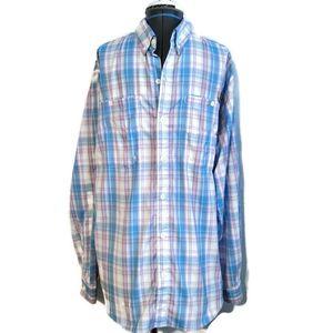 Columbia PFG Omni Shade Shirt M super tamiami blue